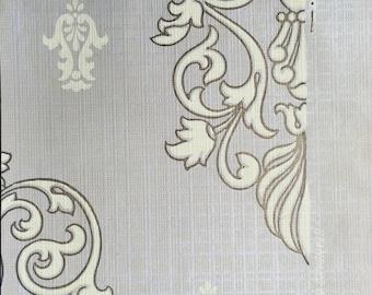 1900 Antique Victorian Textured Wallpaper Sample - Classic Design / Pattern