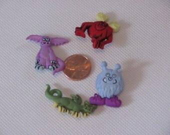 Monster Buttons-Destashing Buttons-Monster Buttons
