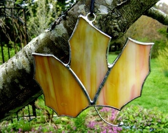 Maple Leaf Canadian Stained Glass Maple Suncatcher Leaves Autumn Fall Colored Halloween Decorations Thanksgiving