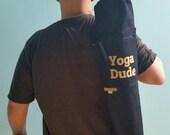 Yoga Dude Yoga Mat Bag, Mens Yoga Mat Bag, Yoga Mat Carrier