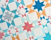Paper Pattern for Star Bright Quilt