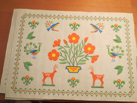 Vintage Decorative Paper Placemats Disposable Placemats Paper