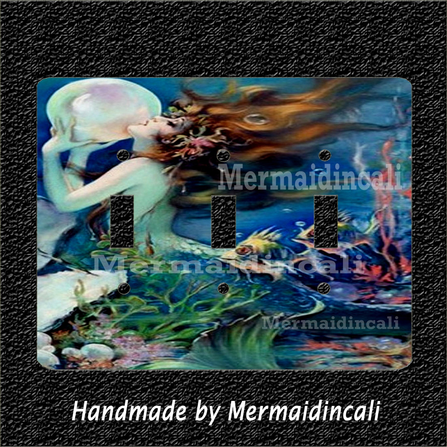 mermaid pearls switch plates