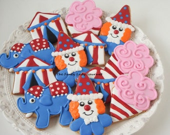 Circus cookie assortment 1 dozen