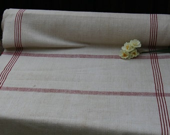C 250 antique FRENCH RED 8.41 yards perfect for tablerunner curtains cushions 22.83 wide SPRING decoration