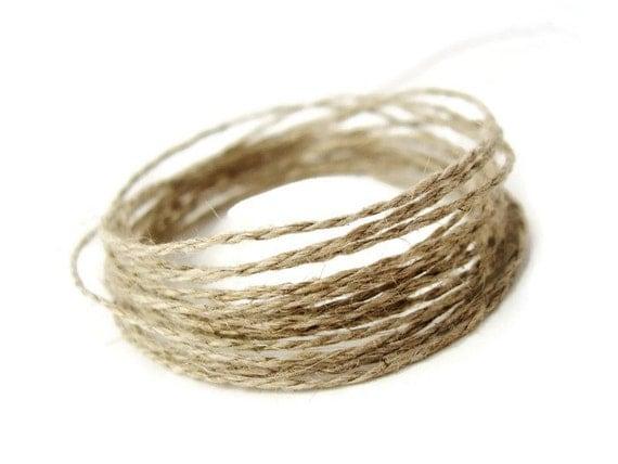 Cord Linen Natural - 10m   (C20)