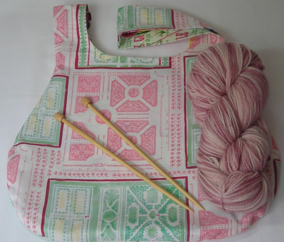 Knitting Project Bags For Sale : Sale knitting crochet project bag medium size japanese