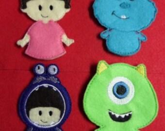 MI Finger Puppet Set