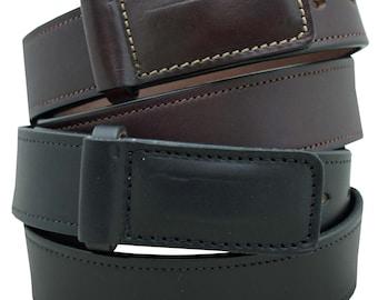 English Bridle Leather Mechanics Belt 1 1/2'' width