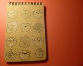 Puffer Breakfast Notebook