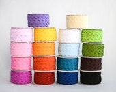 Rick Rack, 400 Bulk Yards,  16 Spools of Ric Rac, 3/8ths inch, 25 yards each