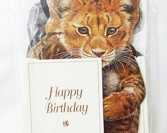Happy birthday card wild animals creative horizons 18 cards 18 envelops sealed