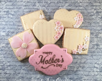 Mother's Day Shortbread Cookie Set, Special Occasion