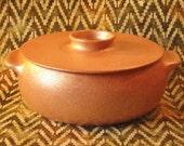 Clay Casserole, 2.75 qt. Micaceous Pottery, Made in Santa Fe, Ceramic Pot