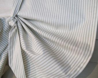 Tie Up Window Shade Green Ticking Stripe Tie Up Curtain Swag Balloon
