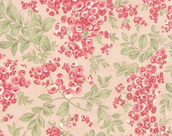 SALE Whitewashed by 3 sisters for Moda Faded Rose on pink