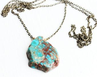 Jasper Stone Necklace
