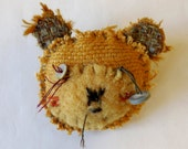 teddy bear brooch - old ted