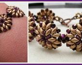 Oh Bracelet PDF Bead Weaving Tutorial (INSTANT DOWNLOAD) Jewelry Making