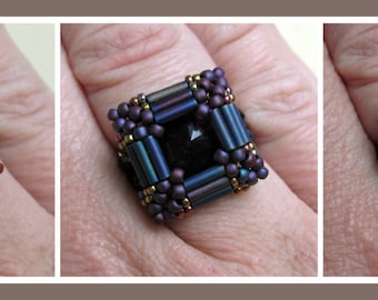 Carnival Ring PDF Jewelry Making Tutorial (INSTANT DOWNLOAD)