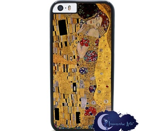 The Kiss by Gustav Klimt - iPhone Cover, Case