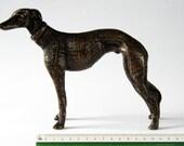 Brass Greyhound Sculpture