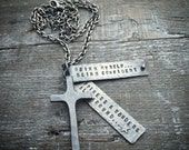 Sterling Silver Cross Necklace Handmade Wild Prairie Silver Jewelry Joy Kruse Custom Tag