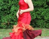 Katniss Everdeen Girl on Fire Dress