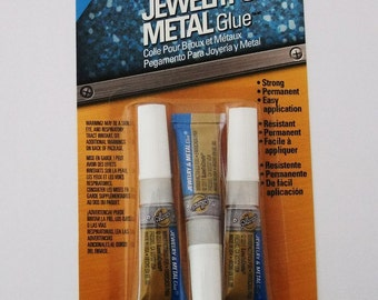 Aileen's Jewelry And Metal Glue 3 Pack Made In USA