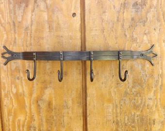 Small Handforged Key Rack