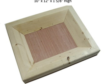 Clay Mold- Rectangular Drop Trays for Hand Building with Ceramic Clay