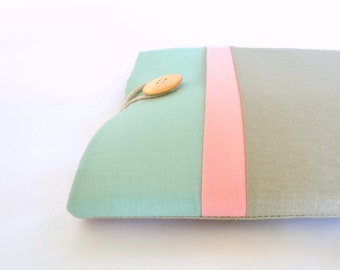 New iPad Case, iPad Pro Case Cover, iPad Air Sleeve, iPad Sleeve Case, iPad Mini Cover, Padded Handmade Tablet Case - Spumoni