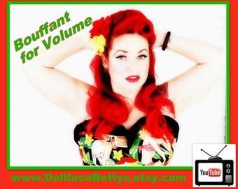 DollfaceBettys Large Hair Bouffant Styling Tool