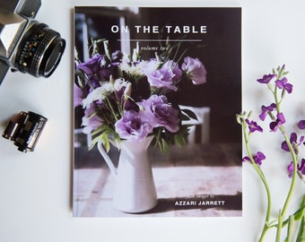 Film Photography Book, Film Photography, On the Table Photography, On The Table, Book