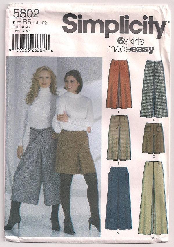 Split Skirt Patterns 119