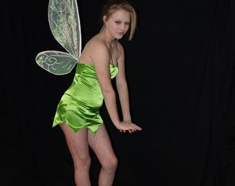 PATTERN and tutorial for TinkerBell Adult costume fairy wings Large