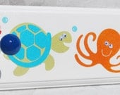 Towel Rack . Target Circo Fish . OCEAN Fish WHALE Seahorse OCTOPUS Sea Turtle Shark