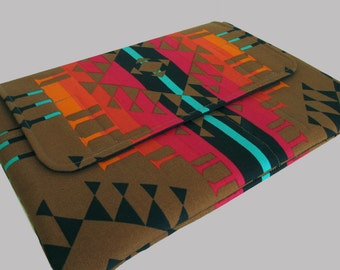 MacBook Air Sleeve, MacBook Air Case, MacBook Air 13 Inch Sleeve, MacBook Air 13 Case, MacBook Air Cover Southwest Tribal