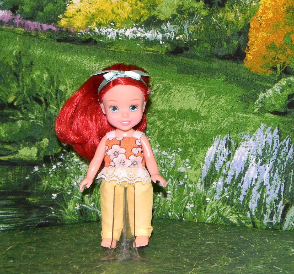 Ppg 25 disney petite princess doll clothes yellow pants - Petite princesse disney ...