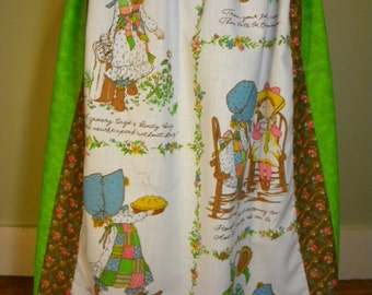 Vintage Holly Hobbie Long Hippie Skirt