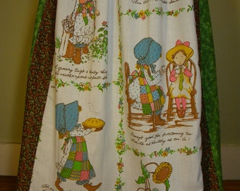 Vintage Holly Hobbie Long Skirt