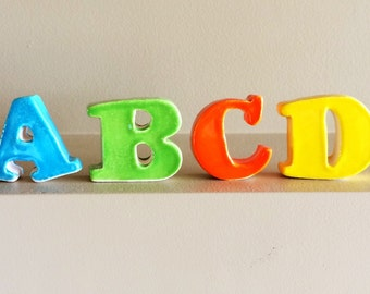 Stand Alone Ceramic Letters