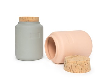 Canister 30oz. / Set of 2 / Assorted Colors