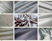 Luxurious Dupioni Silk Custom Pillow Covers Made from the Finest Pure Hand Made Dupioni Silk - Gray, Silver