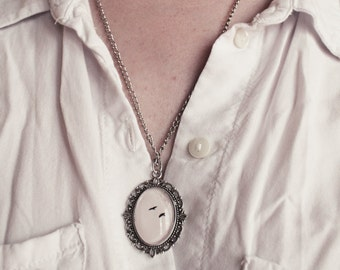 Flying birds photography pendant necklace - 56 cm - 7