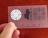 Center Finder Metal Stamp Aligning Tool - Metal Jewelry Stamping Tool The Urban Beader