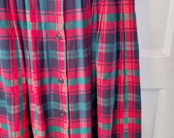 Talbot's punk plaid tartan skirt schoolgirl kinderwhore goth steampunk crest preppy normcore 10
