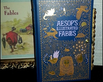 Book Clutch Aesop's Fables Literary Book Purse Clutch