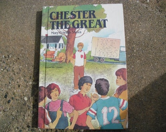Vintage Book Chester the Great