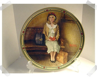 Norman Rockwell Collectible Plate/ 1985/Single OR Set of 2 assorted/Vintage*